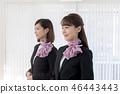 年轻的女士,2人,接待员 46443443