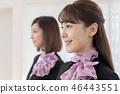 年轻的女士,2人,接待员 46443551