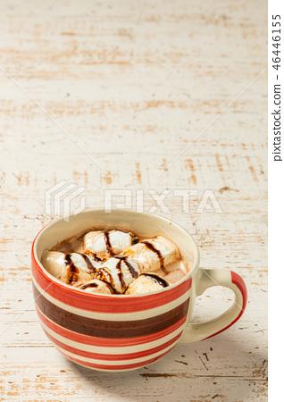 Hot chocolate to milk Hot chocolate drink 46446155
