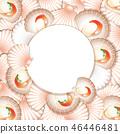 template, border, decoration 46446481