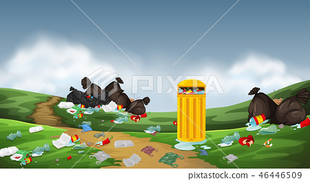 A pollution in the nature 46446509