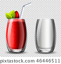cocktail strawberry background 46446511