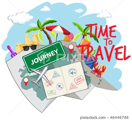 Set of travel element 46446786