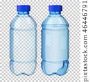 Set of transparent water bottle 46446791