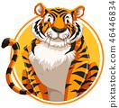 tiger, wild, logo 46446834