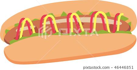 Hot dog 46446851