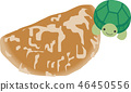 Ginger rice cracker and tortoise 46450556