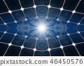 3D illustration of Solar panels 46450576