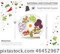 South Korean Cuisine. Asian dish collection 46452967