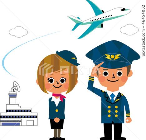 CA和飛行員 46454002