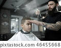 boy, barber, hair 46455668