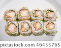 Creative roll sushi 46455765