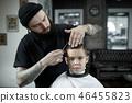 boy, hair, haircut 46455823