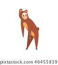 costume, animal, vector 46455839