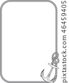 frame with anchor 46459405