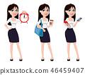 businesswoman woman cartoon 46459407