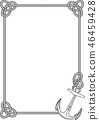 frame with anchor 46459428