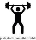 barbell sport exercise 46460668