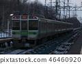 Chitose Line 721 series train (spun shot) 46460920