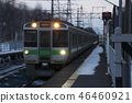 Chitose Line 721 series train (spun shot) 46460921
