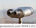 전망대 망원경. 쌍안경. 46461101