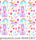 princess pattern diamond 46461857