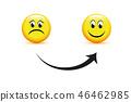 sad, icon, smile 46462985