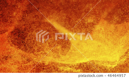Hot Volcanic Magma, Lava Background 46464957