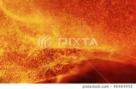 Hot Volcanic Magma, Lava Background 46464958