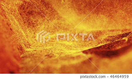 Hot Volcanic Magma, Lava Background 46464959