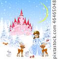 princess castle forest 46465048