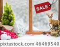 Merry Christmas and Happy New Year on sale 46469540