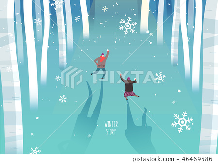 冬季旅行圖 46469686