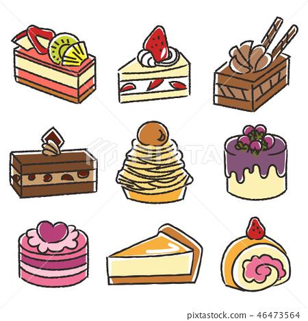 各種蛋糕1 46473564