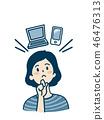 思維的女人_智能手機和個人電腦 46476313