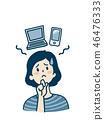 惱人的女人_智能手機和電腦 46476333