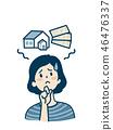 生氣的女人_房子和錢 46476337