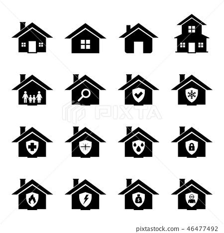 House Icon 46477492