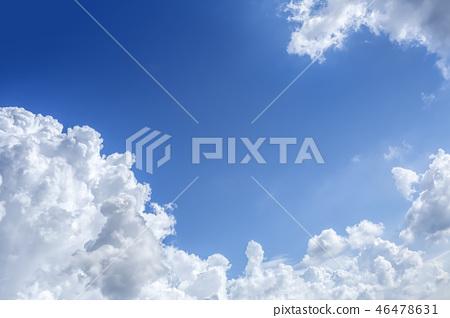 뭉게구름,하늘,맑은하늘 46478631