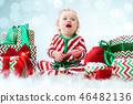 baby, child, christmas 46482136