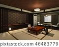 여관 일본식 46483779