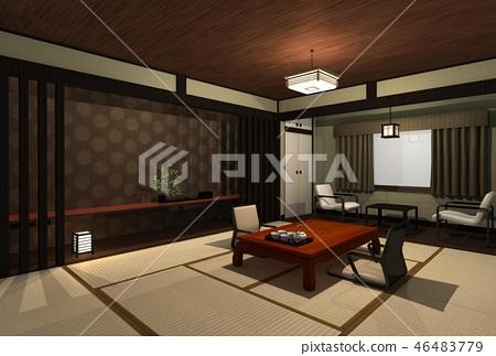 日式旅館 46483779