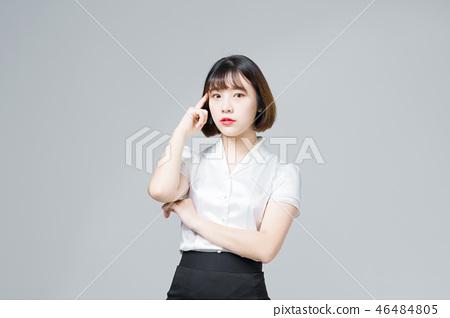 비지니스 우먼 회사원 여성 여자 20대 30대 커리어 우먼 46484805