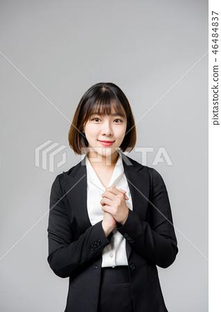 비지니스 우먼 회사원 여성 여자 20대 30대 커리어 우먼 46484837