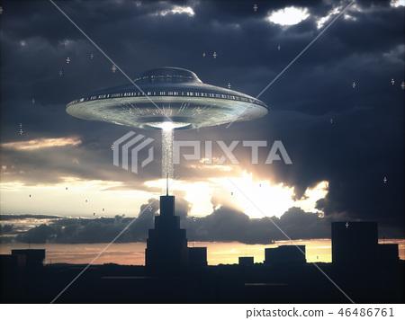 Alien Spacecraft Science Fiction 46486761
