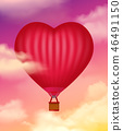 Air Baloon Realistic Background 46491150