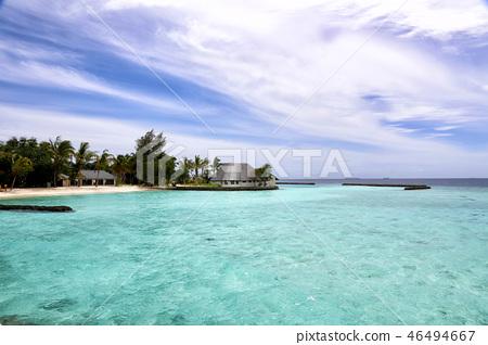 度假村,馬爾代夫 46494667