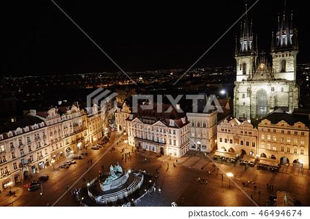 체코,프라하,구시가지광장,틴성당 46494674