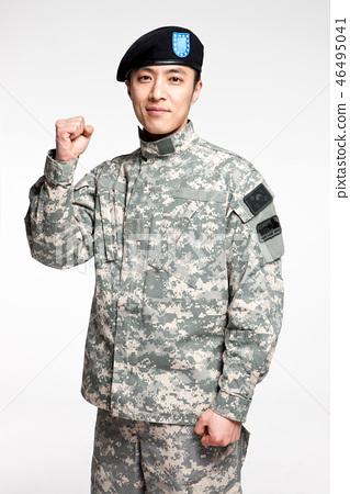 군인,한국인,남자 46495041