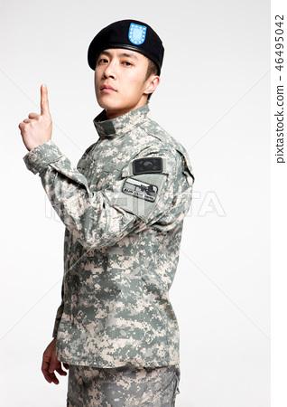 군인,한국인,남자 46495042
